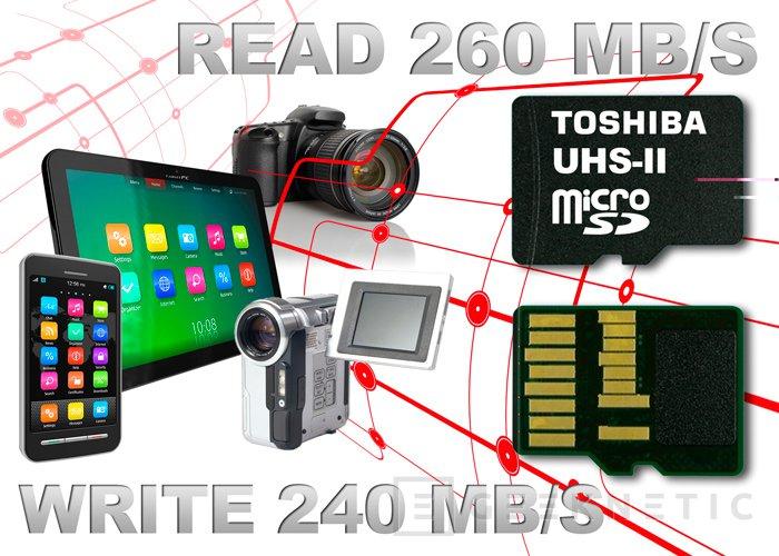 Toshiba presenta la tarjeta microSD más rápida del mundo, Imagen 1