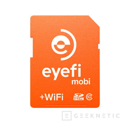 Las nuevas tarjetas SD Eyefi Mobi permiten sincronizar automáticamente con la nube, Imagen 1