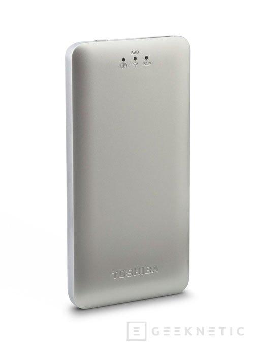 El Canvio AeroMobile es el nuevo SSD portátil con conectividad WiFi integrada de Toshiba, Imagen 2