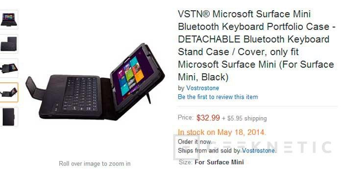 Se filtran las primeras imágenes del tablet Surface Mini de Microsoft, Imagen 3