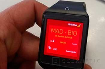 Iberia y Samsung lanzan la primera tarjeta de embarque para smartwatch, Imagen 2