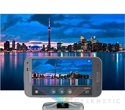 Llega el segundo smartphone con proyector de Samsung: Galaxy Beam 2, Imagen 2