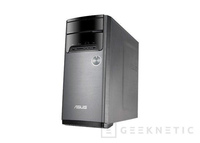 ASUS no se olvida del PC de sobremesa con el nuevo M32 con claro enfoque multimedia, Imagen 1