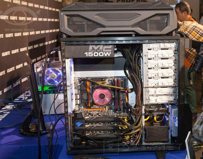 Gigabyte sorprende con un dispositivo formado por tres GTX 780 Ti refrigeradas por agua, Imagen 3