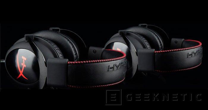 Kingston presenta sus nuevos auriculares gaming HyperX Cloud , Imagen 1