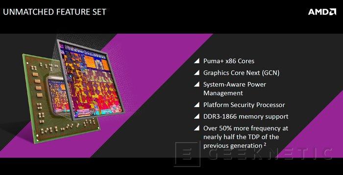Llegan las APU AMD Mullins y Beema de bajo consumo , Imagen 1