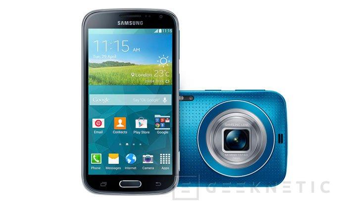Samsung vuelve a intentar la convergencia de móvil y cámara con el nuevo Galaxy K Zoom, Imagen 1