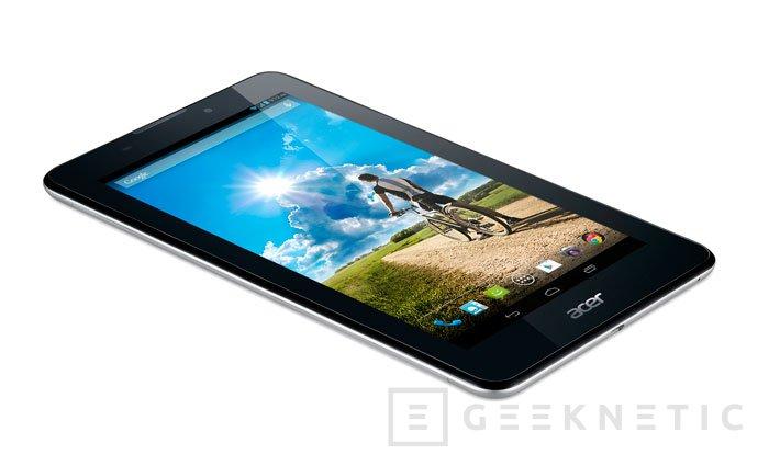 Acer amplía su catálogo de tablets económicos 3G con dos nuevos Iconia Tab 7, Imagen 1