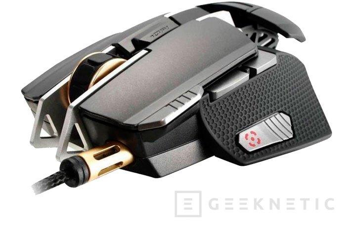 Cougar presenta su nuevo ratón gaming con CPU ARM y 512 MB de memoria interna, Imagen 1