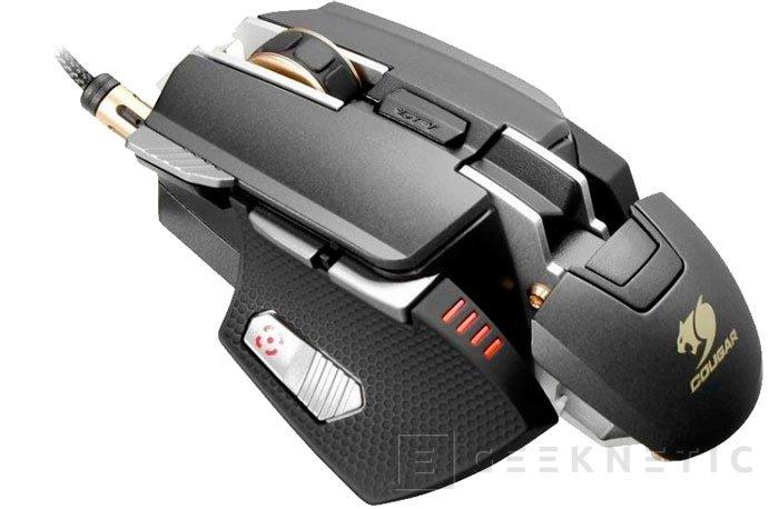 Cougar presenta su nuevo ratón gaming con CPU ARM y 512 MB de memoria interna, Imagen 2