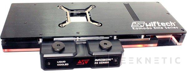 Las Radeon R9 reciben su ración de refrigeración líquida con el Swiftech Komodo R9-LE, Imagen 2