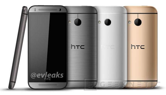 Se filtran las primeras imágenes del nuevo HTC One mini (m8), Imagen 1