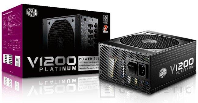 Cooler Master presenta su nueva fuente V1200 Platinum de alta eficiencia, Imagen 1