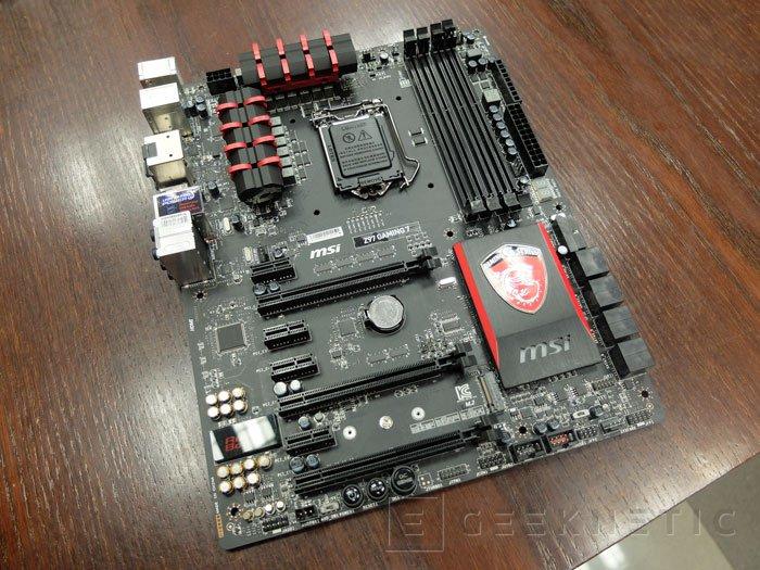 MSI nos muestra sus primeras placas base con chipset Intel Z97, Imagen 1