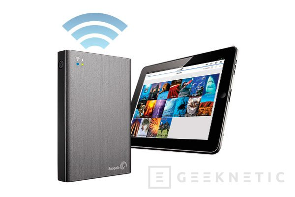 Seagate presenta su disco externo inalámbrico Wireless Plus, Imagen 1