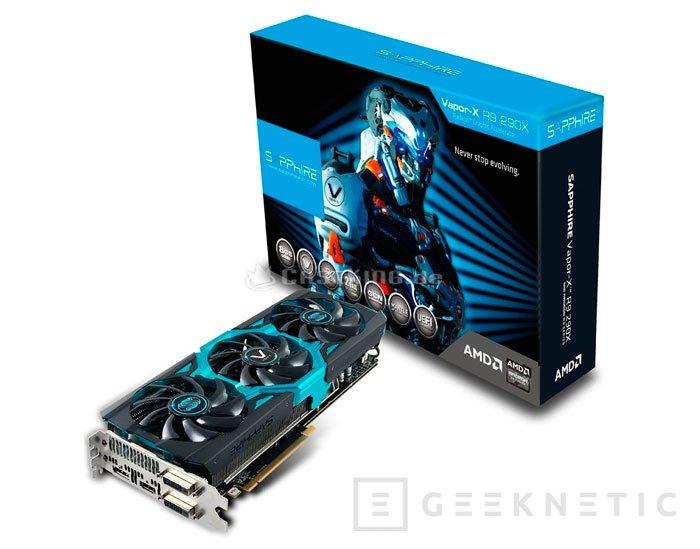 Aparece la Sapphire R9 290X Vapor-X 8GB por 730 Euros., Imagen 1