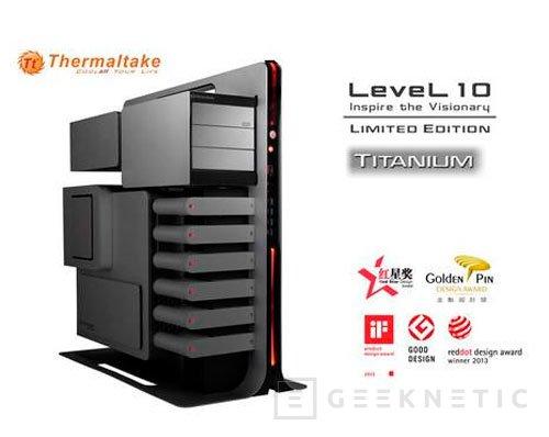 Thermaltake lanza una versión especial en titanio de su torre Level 10, Imagen 1