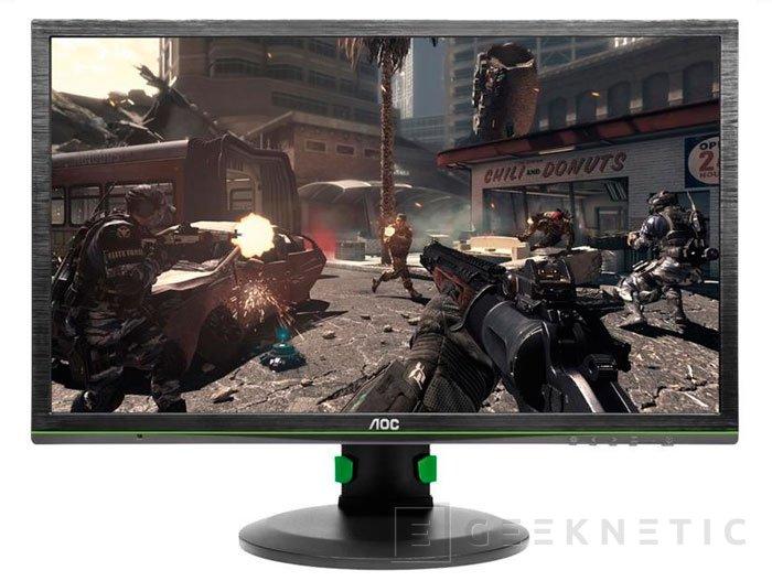 AOC mantiene su apuesta por G-SYNC con el lanzamiento de su nuevo monitor, Imagen 1