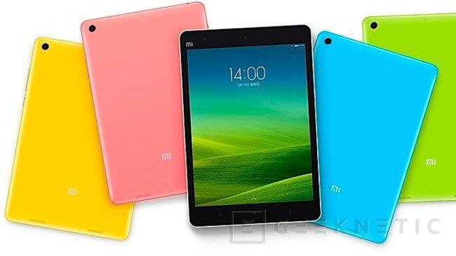 Mi Pad: llega el primer tablet con Tegra K1, Imagen 1