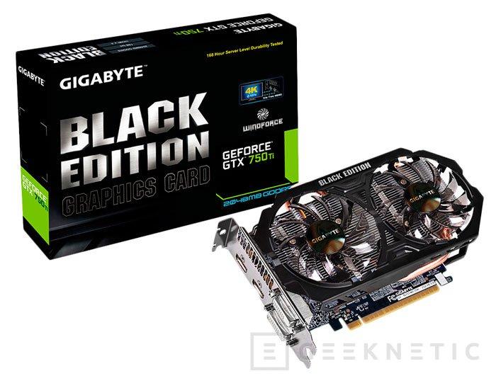 La nueva GTX 750 Ti Black Edition llega con certificado de durabilidad, Imagen 1