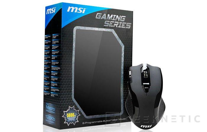 MSI amplía su familia de de periféricos Gaming Series con el nuevo ratón W8, Imagen 2