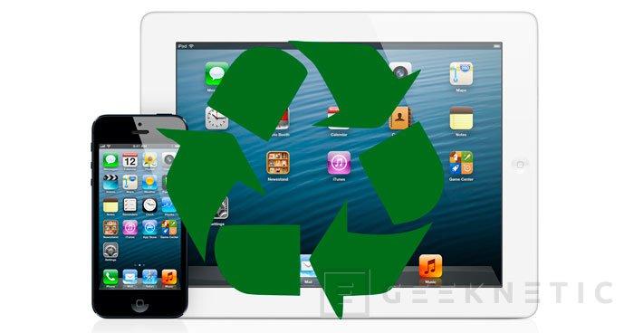Ya es posible reciclar los iPhone e iPad en las Apple Store españolas a cambio de descuentos, Imagen 1