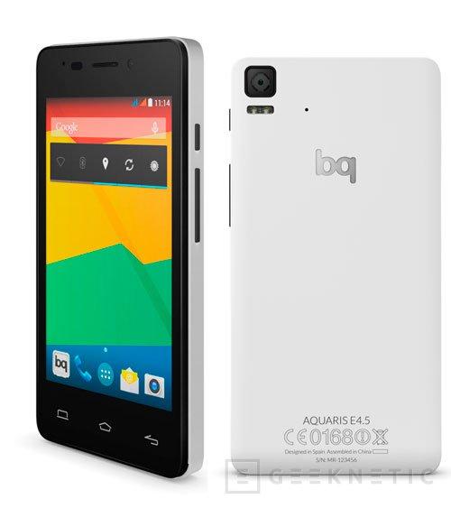 BQ lanza la nueva serie de smartphones asequibles Aquaris E, Imagen 1