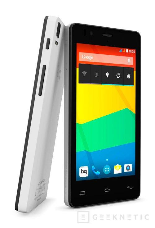 BQ lanza la nueva serie de smartphones asequibles Aquaris E, Imagen 2