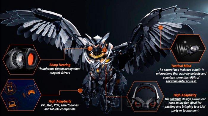 La reciente gama STRIX de ASUS se amplía con unos nuevos auriculares gaming, Imagen 2