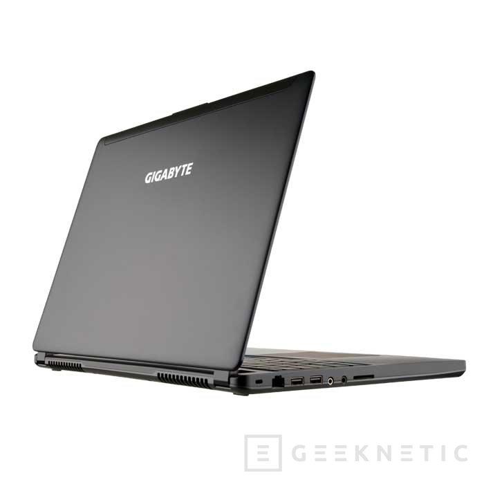 Gigabyte presenta un nuevo portátil gaming con grosor contenido, Imagen 2