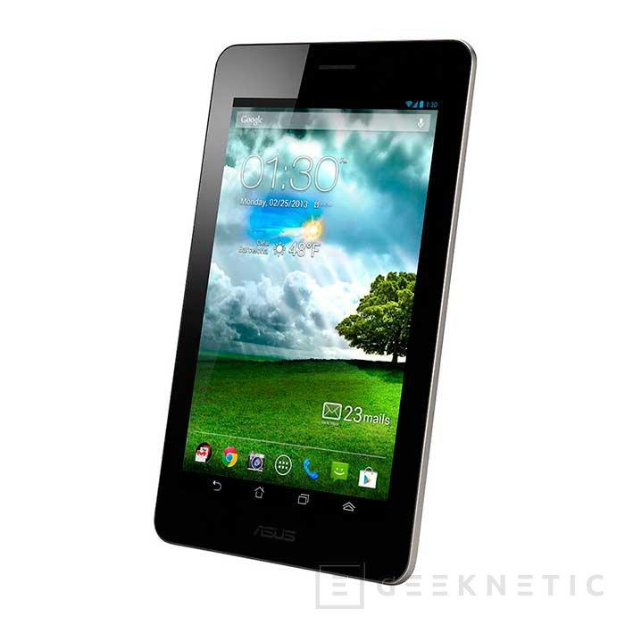 ASUS reduce las especificaciones del FonePad 7 para perder peso y tamaño, Imagen 1