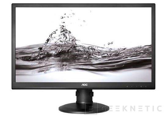 AOC lanza al mercado su monitor 4K de 28 pulgadas por 649 Euros, Imagen 1