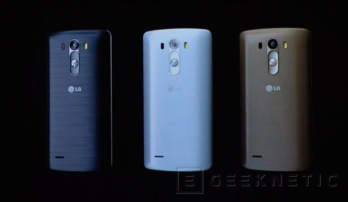 Llega oficialmente el LG G3, Imagen 2