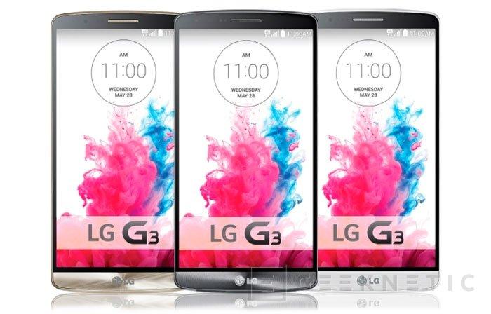 Llega oficialmente el LG G3, Imagen 3