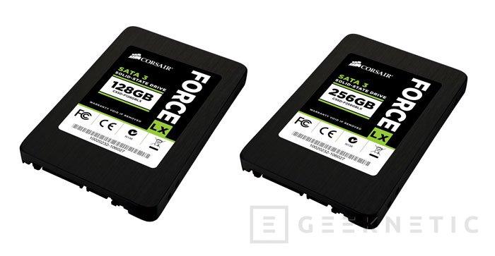 Los nuevos SSD Force LX de Corsair llegan al mercado con precios contenidos, Imagen 1