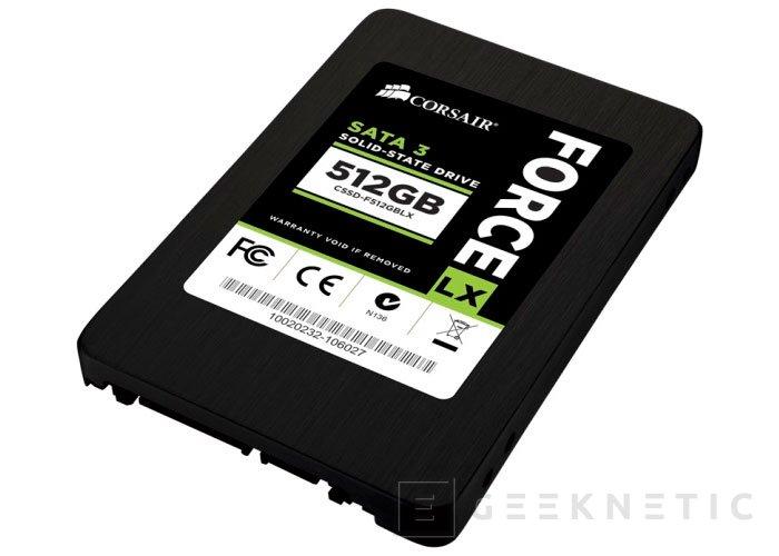 Los nuevos SSD Force LX de Corsair llegan al mercado con precios contenidos, Imagen 2