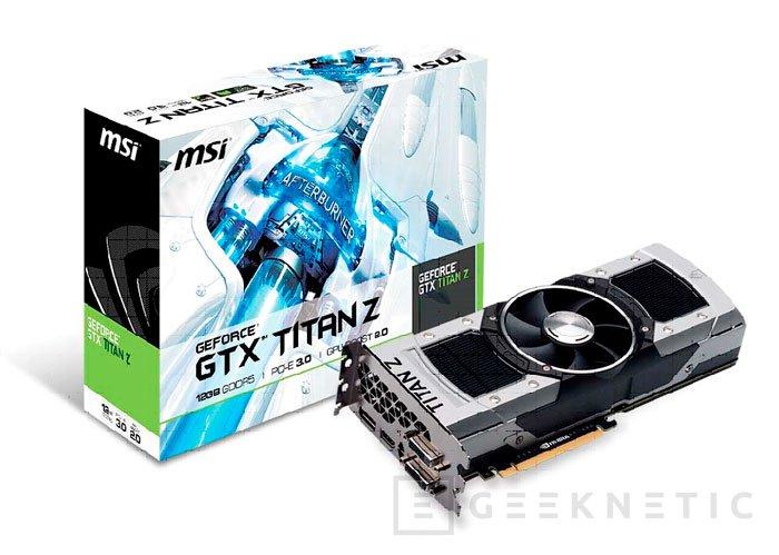 Llegan las GeForce GTX TITAN Z por más de 2.800 Euros, Imagen 2