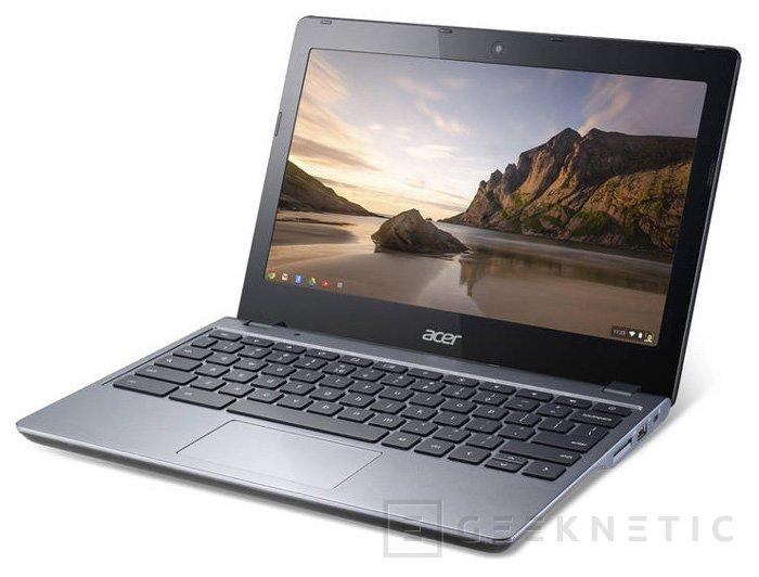 ACER lanza el Chromebook C720 en España, Imagen 2