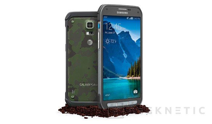 El Samsung Galaxy S5 Active llega oficialmente al mercado, Imagen 1