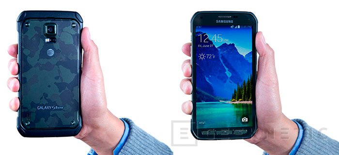 El Samsung Galaxy S5 Active llega oficialmente al mercado, Imagen 2