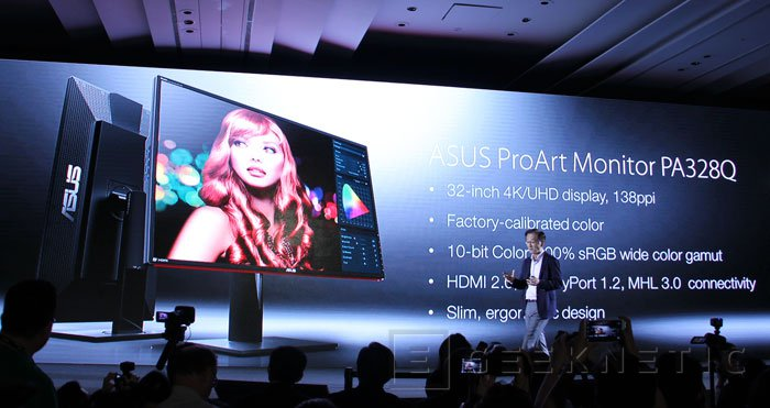 ASUS ProArt PA328Q, monitor 4K para profesionales, Imagen 2