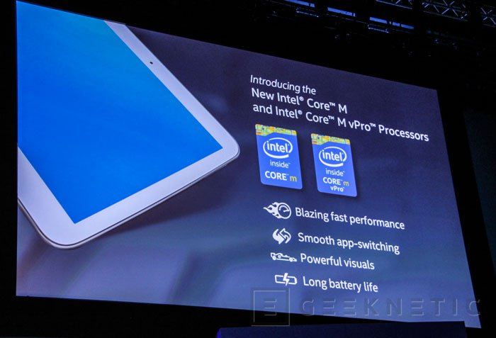 Intel desvela los nuevos Core M, los primeros procesadores de 14 nanómetros, Imagen 2