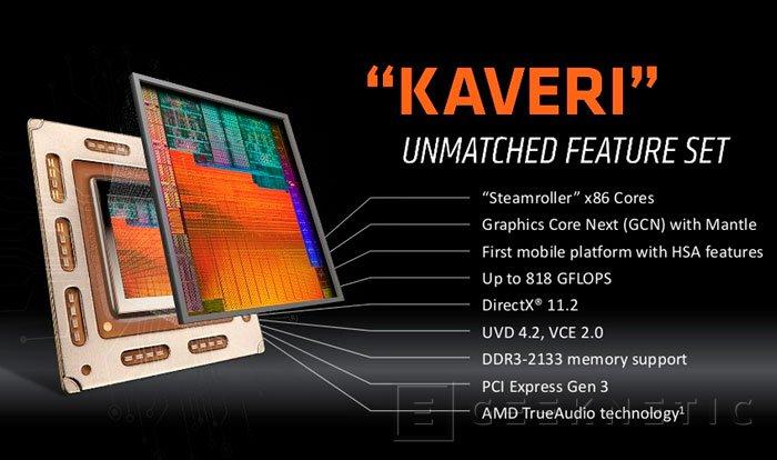 AMD lanza la versión para portátiles de las APU Kaveri con HSA, Imagen 1