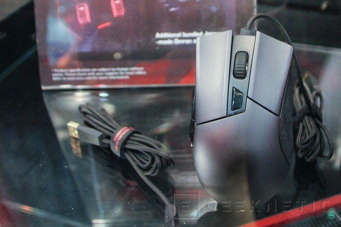 ASUS ROG Gladius, nuevo ratón gaming con interruptores intercambiables, Imagen 1