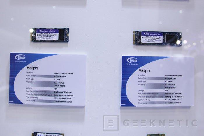 SSD en formato M.2 de Team Group  con memorias SLC y MLC, Imagen 1