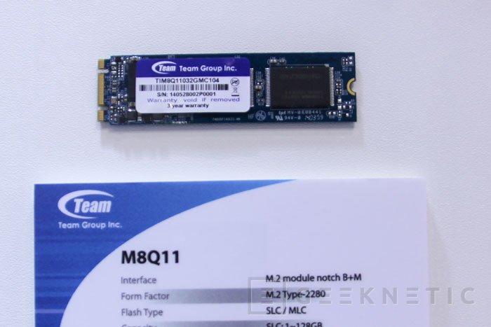 SSD en formato M.2 de Team Group  con memorias SLC y MLC, Imagen 2