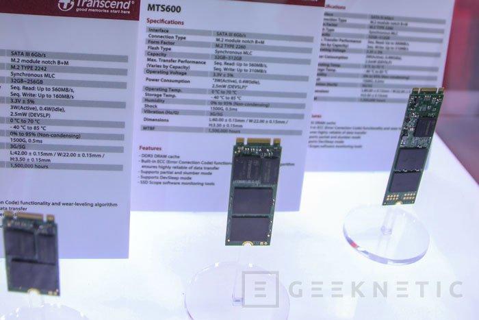 Transcend también lleva al Computex sus SSD M.2, Imagen 1