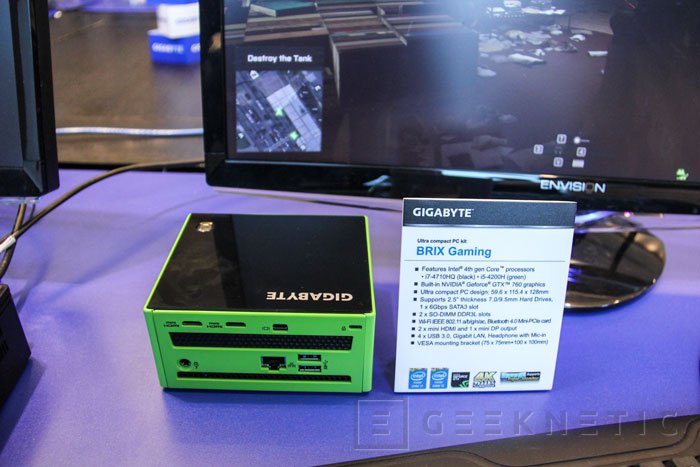Gigabyte amplía la gama de mini PCs BRIX Gaming, Imagen 2