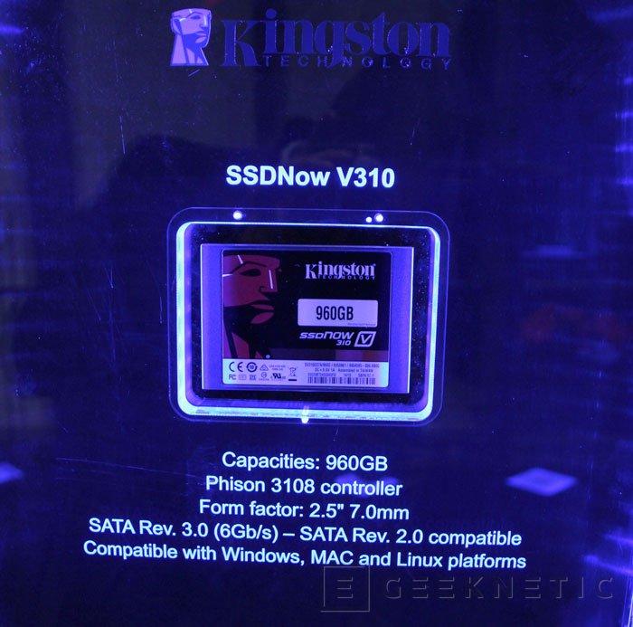 Kingston muestra sus SSDNow V310 en el Computex 2014, Imagen 1
