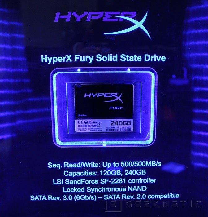 Kingston también muestra los SSD HyperX Fury, Imagen 1